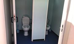 Toilette sanitaire