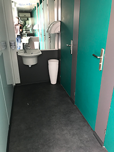toilette VIP